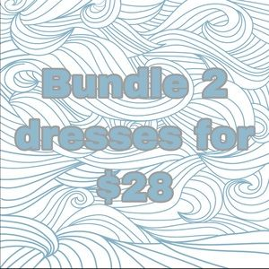 2 dresses for $28